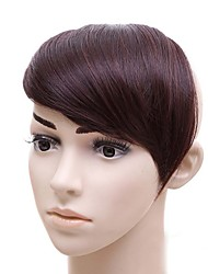 High Temperature Silk Wig Inclined Brown Bang Wig Bang wholesale