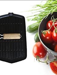 bife de ferro fundido frigideira madeira dobrável 8 * 13inch