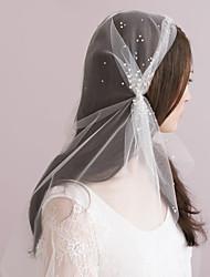 Wedding Rhinestone Speckled Juliet Veil