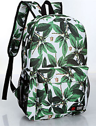 Unisex Acrylic Baguette Backpack - Green