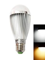 Bombillas Globo , E26/E27 7 W 7 LED de Alta Potencia 630lm LM Blanco Cálido / Blanco Fresco AC 85-265 V