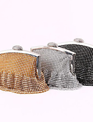 Stylish Elegant Sparkling Full Rhinestone Bridal Hand Bag Bridal Accessory Party Prom Handbags