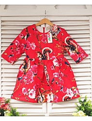 Kid's Dress Cotton Blend Cute Samgamibaby