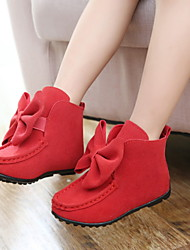 FLY   Girls' Short Boots Bow Princess Shoes