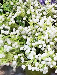 Plastic Baby Breath Artificial Flowers