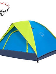 OSEAGLE Light Weight Portable Family Travling Tent New High Quality UV Waterproof Large Outdoor Camping Tent 3-4 Person