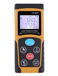 60m de distância a laser faixa de nível de bolha metros telêmetro localizador fita métrica atacado