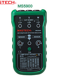 Mastech-ms5900- three-phase motor phase rotation indicator indicator motor sequence table