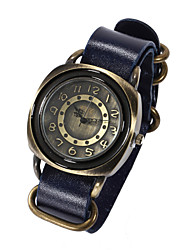 Unisex Genuine Leather Band Watches Sports Watch Vintage Wrist Watch (Assorted Colors) Cool Watches Unique Watches