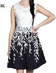 plus velikosti elegantní šaty krajka dámské