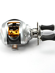 DMK DM120RG-S1 10 Bearing Bait Casting Fishing Reel Gear Ratio 6.3:1 Max Drag 5kg Right Handle Centrifugal Brake