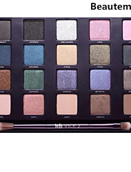 pro 20 couleur terre ombre à paupières maquillage cosmétique palette