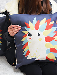 Mini Hedgehog Pillowcase Sofa Home Decor Cushion Cover(17*17inch)