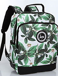 Unisex Acrylic Baguette Backpack - Green