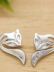 Earring Stud Earrings Jewelry Women Daily / Casual / Sports Sterling Silver / Stainless Steel / Alloy 2pcs Silver