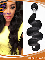 "3 Pcs/Lot 8""-24"" Brazilian Virgin Hair Natural Black Color Body Wave  Unprocessed Human Hair Extensions Low Price Sale"