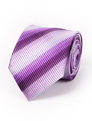 Purple Gradient Striped Silk Tie 8.5cm(3.3in)