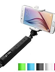 flexibles bluetooth monopie trípode q-08 extensible tamaño palo selfie monopie de mano: 29x10x4.5cm