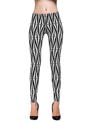 Women's Fashion Print Leggings Tights for Plus Size