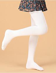 Girl's Cotton Blend Underwear & Socks Childrens Girls Velvet dance pantyhose Long Socks