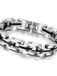 Stainless Steel Bracelets & Bangles Male Jewelry Fashion Punk Bracelets For Men