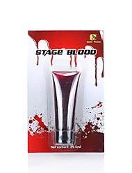 Sangue falso 1pc para performances de palco de teatro e Dia das Bruxas