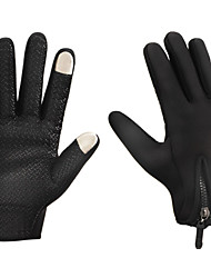 Men's Outdoor Sports Hiking Skiing Cycling Warm Gloves, Full Fingers Touch Screem Upgraded Glove In Autumn and Winter