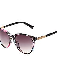 Sunglasses Women's Elegant / Retro/Vintage / Fashion Cat-eye Black / White / Brown / Multi-Color / Leopard Sunglasses Full-Rim