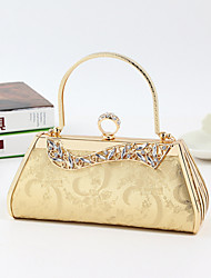 Women PVC Baguette Evening Bag