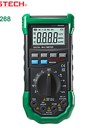 Mastech-ms8268-4000 - Range Digital Multimeter - Frequency Test Duty Ratio Misplug Proof Alarm