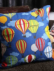 Custom Cotton Canvas Leaning Cushion Pillow with Insert