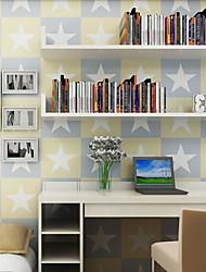Géométrique Papier peint Contemporain Revêtement , Papier pur Striped wallpape