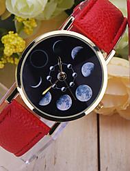 reloj luna fase, reloj astronomía, espacio reloj, reloj de señora, reloj para hombre, idea del regalo, reloj personalizado