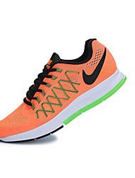 Zapatos Tenis Materiales Personalizados Naranja Mujer / Hombre