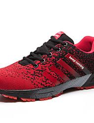 Sapatos Corrida Masculino Vermelho Tule