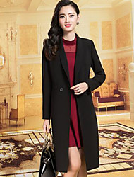 Women's Solid Coat / Trench