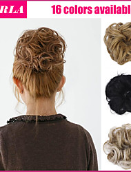2015 New Fashion Synthetic Elastic Bride Hair Bun Hair Chignon Roller Hepburn's Hairpieces Hair Synthetic Bun
