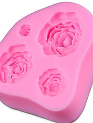 Christmas DIY  Rose Cake  Mould