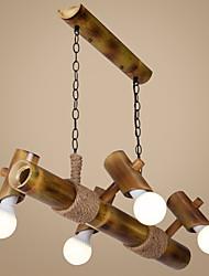 3W Lustre ,  Traditionnel/Classique / Rustique / Vintage / Rétro Plaqué Fonctionnalité for LED Bois/BambouSalle de séjour / Chambre à