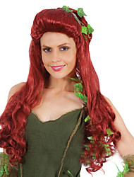 Ms Poison Ivy Cosplay Curly Hair Wig Europe And The United States Holiday Special Wig