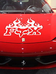 Creative Personality Flame Waterproof Car Stickers
