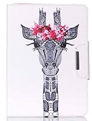 conception spéciale nouveauté cas folio cuir PU dessin de couleur ou un motif étui pour ipad mini4 mini3 / 2/1