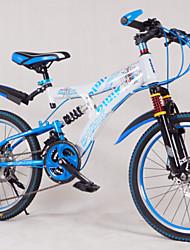 "7 velocidades 20 ""mini-folding mountain bike drivetrain de alumínio quadro de liga de 3 raios rodas 2 cores"