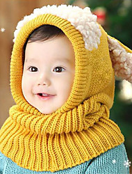 Boys Girls Hats & Caps Jewelry Set,Winter Cotton