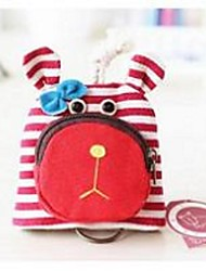 Women Canvas Professioanl Use Key Holder - Pink / Blue / Red