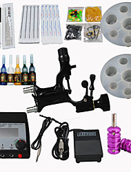 Dragonfly Rotary Tattoo Kit Digital Power Supply Needles Tips Tube Ink Machine Supply For Artists