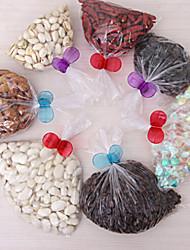 alimentos clipe de vedação cor aleatória