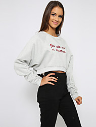 Women's Fashion Casual Party Work Plus Size Long Sleeve T-shirt