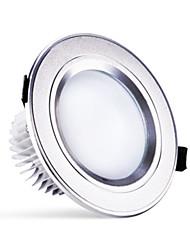 3w 250LM chaude fraîche changer de couleur / naturel / blanc conduit rond léger downlight de plafond encastré (220v)
