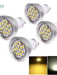 7W GU10 Faretti LED MR16 15 SMD 5630 700 lm Bianco caldo / Luce fredda Decorativo AC 85-265 V 4 pezzi